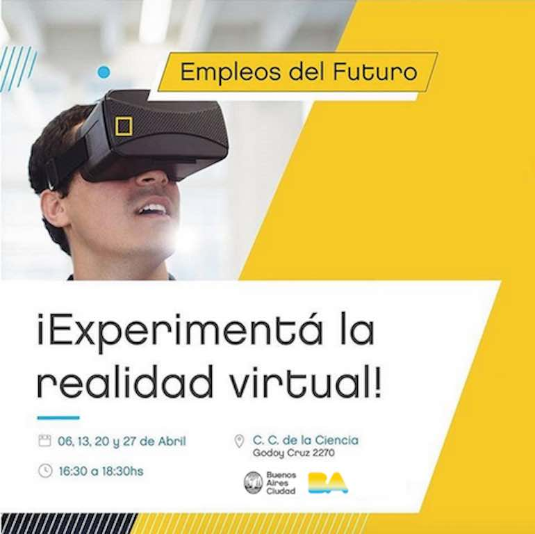 Workshop / curso de realidad virtual - Gobierno de la Ciudad de Buenos Aires - Argentina - VR - Virtual Reality
