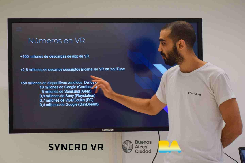 Cursos y workshops de realidad virtual - Gobierno de la Ciudad de Buenos Aires - VR