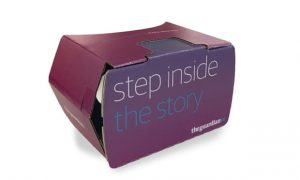 The guardian realidad virtual google cardboard