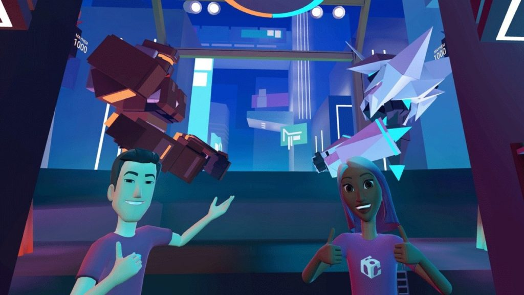 Facebook horizon en realidad virtual