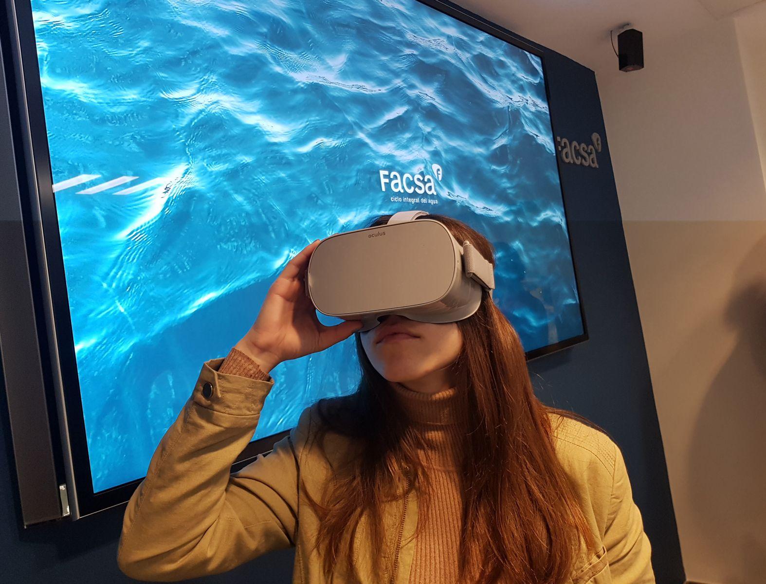 FACSA lanza un innovador programa de Realidad Virtual para concienciar sobre el uso responsable del agua