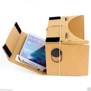 Lentes Google Cardboard en Argentina
