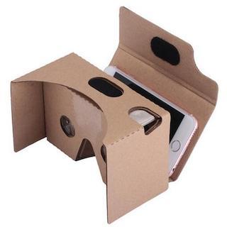 Lentes de realidad virtual Google Cardboard