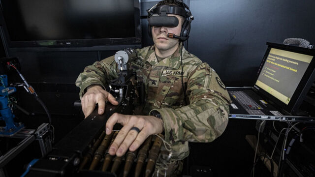 Realidad virtual militares