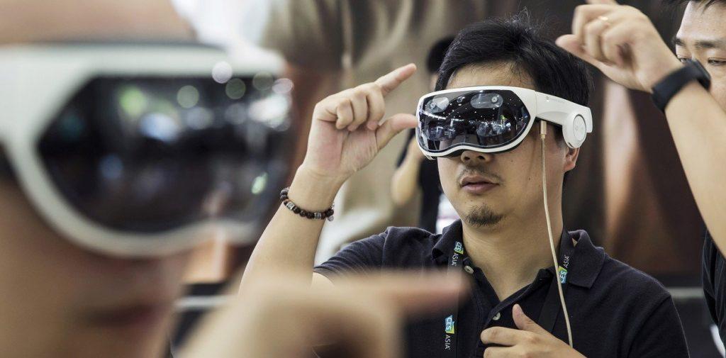 Realidad virtual en el trabajo